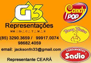 G3 representações