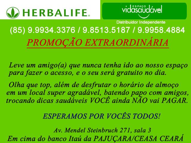 promocao Herbalife