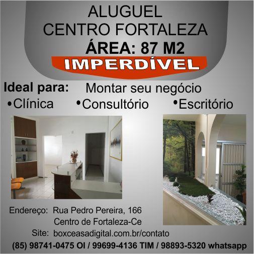 aluguel LojaCentroFortaleza